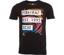 Herren Edvin T-Shirt Schwarz