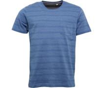 Herren T-Shirt Hellblaumeliert