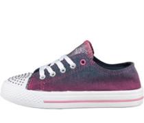 Mädchen Freizeit Schuhe Denim/Pink