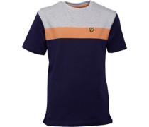 Jungen Block T-Shirt Navy