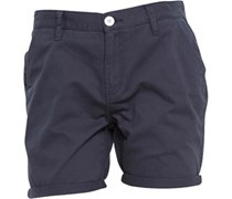 Herren Twill Chino Shorts Blau