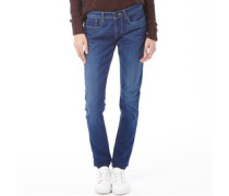 adidas Neo Damen Super Skinny Jeans Denimmeliert Blau