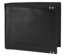 French Connection Herren Bifold Brieftasche Schwarz