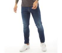 Overburg Jeans mit zulaufendem Bein Dunkel