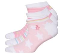 Trainer Liners Socken Rosa