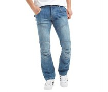 Herren Newport Jeans mit geradem Bein Light Wash