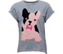 Mädchen T-Shirt Graumeliert