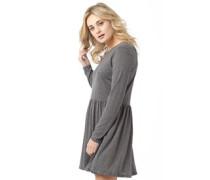 Damen Mint Kleid Grau