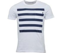 Herren 5 T-Shirt Weiß