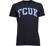 French Connection Herren FCUK LDN T-Shirt Navy