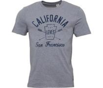 Levi's Herren Graphic T-Shirt Grau