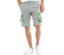 Herren Preston Cargo Shorts Grün