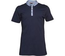 Herren Chimerid Polohemd Navy/Denim