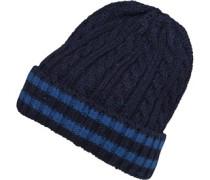 Onfire Herren Nepp Beanie Mütze Blau
