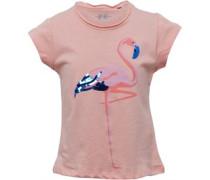 Mädchen T-Shirt Korallenrosa