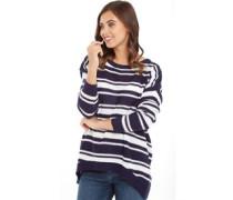 Damen Pullover mit Rundhalsausschnitt Navy