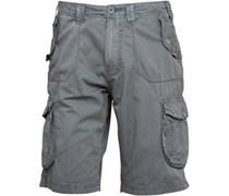 Herren Cargo Shorts Grau