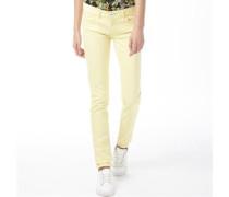adidas Neo Damen Skinny Jeans Gelb
