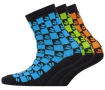 Junior Three Pack Socks Multi