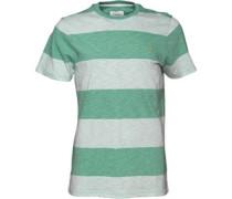 Farah Vintage Herren Burton T-Shirt Gestreift