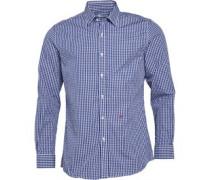 Moschino Herren Hemd mit langem Arm Kariert