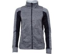 Womens ColdGear Infrared Storm Armour Fleece Jacket Black