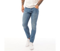 Barbeck Jeans in Slim Passform Hell
