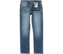 French Connection Herren James Regular Jeans in Slim Passform Blau