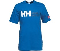 Helly Hansen Herren Original Logo Classic T-Shirt Blau