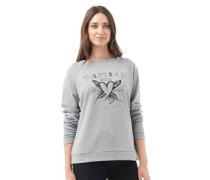 Damen Sweatshirt Grau