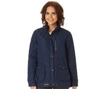 Trespass Damen Bronwyn Steppjacke Blau