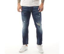 Chantilly Jeans in Slim Passform Dunkel Denim
