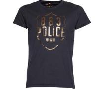 883 Police Herren NYPD T-Shirt Schwarz