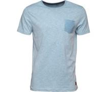 Herren Nixon T-Shirt Blue