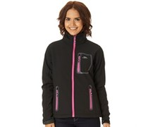 Trespass Damen Homelake Soft Shell Magenta Performance Jacket Schwarz
