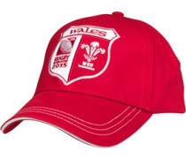 Canterbury Unisex Rugby World Cup WRU Wales Mütze Rot