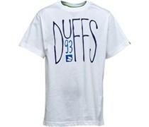 Duffs Jungen  T-Shirt Weiß