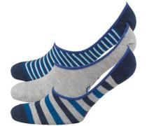 Herren Packung Von Drei Trainer Liner Socken Mehrfarbig