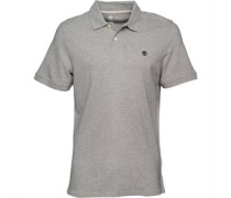Timberland Mens Millers River Polo Medium Grey