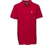 Jungen Horseman Polohemd Rot