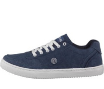 Herren Slice Sneakers Navy Canvas