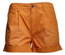 Damen Relaxed Sunfade Cargo Shorts Dunkelorange