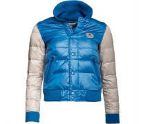 Damen Original Down Baseball Jacke Blau