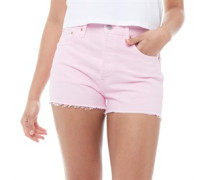 501® High Rise Denim Shorts Hell