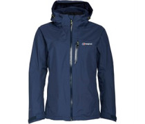 Damen Island Peak 2 Layer Gore-Tex Shell Performance Jacke Navy
