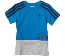Jungen Linear Logo T-Shirt Blau
