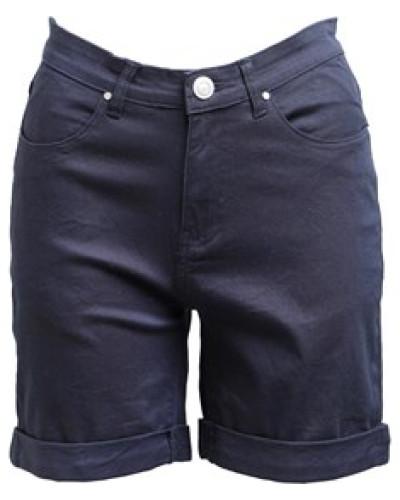 Stretch Twill Chino Shorts Navy