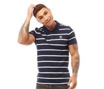 Trefoil Striped Polohemd