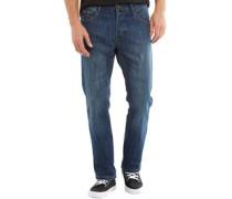 Herren Marvin Slim Jeans Dunkelblau