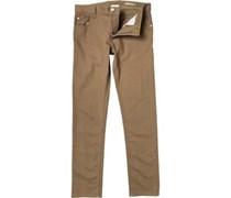 adidas Neo Herren  Slim Jeans Medium Khaki